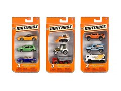 Matchbox On A Mission 3-pack