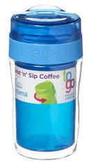 Стакан для кофе To-go Sistema, синий 315 мл