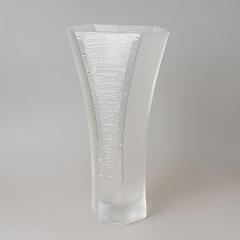 Ваза декоративная 35 см кристаллы 6768/PK
