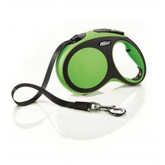 Flexi рулетка New Comfort L ремень, длина 5 м / вес собаки до 60 кг зеленый