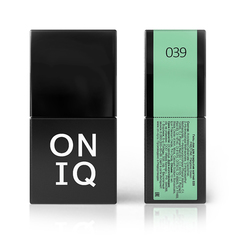 Гель-лак ONIQ - 039 Paradise green, 10 мл