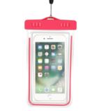 Чехол водонепроницаемый неоновый универсальный Neon 10x15 см (Розовый)