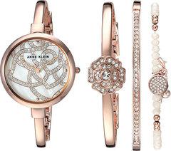 Женские наручные часы Anne Klein 3080RGST в наборе