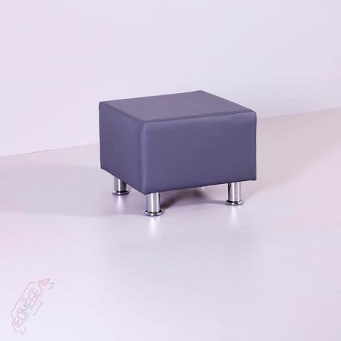 Пф-101 Пуфик квадратный для магазина (серый)