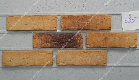 Плитка-клинкер под кирпич Feldhaus Klinker, Sintra, ручная формовка, sabioso ocasa, R695NF14