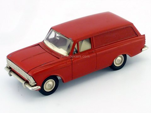 Moskvich-434 red (metal bottom) Agat Mossar Tantal 1:43