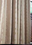Готовая штора Poche (коричневый)