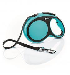 Flexi рулетка New Comfort L ремень, длина 8 м / вес собаки до 50 кг синий