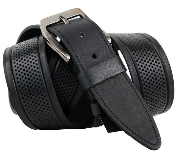 Ремень мужской для джинсов большого размера 45 мм 45NS-B-020