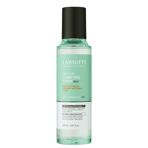 Тонер LABIOTTE Lady's Lab Clarifying Toner-Mild 150ml