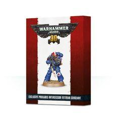 30 Years of Warhammer 40,000 Primaris Intercessor Veteran Sergeant