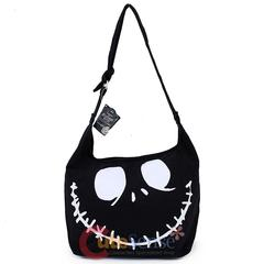 Nightmare before Christmas Jack face black Hobo bag