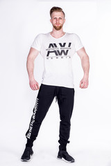 Мужская футболка Nebbia AW top 127 White