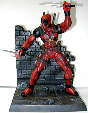 Marvel Select Deadpool || Дэдпул