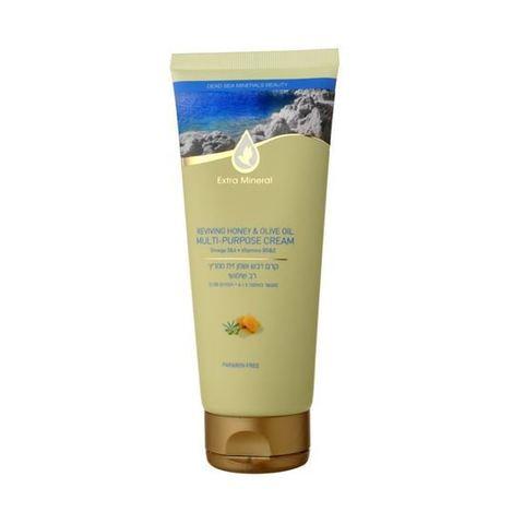 Extra Mineral - Восстанавливающий универсальный крем с медом и оливковым маслом