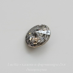 1122 Rivoli Ювелирные стразы Сваровски Crystal Silver Patina (SS39) 8,16-8,41 мм