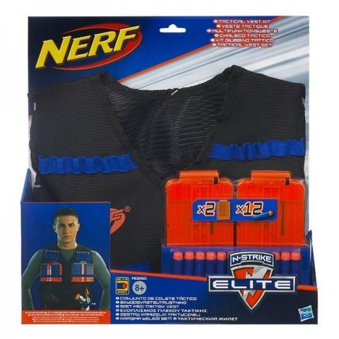 Hasbro: Nerf Элит Жилет Агента с 12 стрелами и 2 обоймами A0250