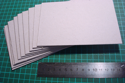 Переплетный картон 10х15 см 1,5 мм
