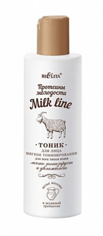 Белита Milk line Протеины молодости Тоник для лица Мягкое тонизирование для всех типов кожи 200мл