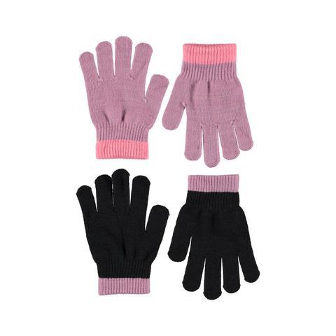 MOLO Kello перчатки демисезонные для девочки (в комплекте 2 пары)