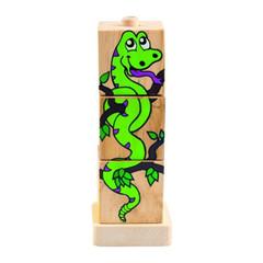 Игрушки из дерева Набор деревянных кубиков №1, 3 шт. (Д287)