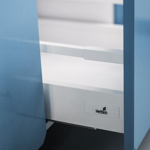 Напольный шкаф c 2 ящиками, 720Х600 мм / PushToOpen