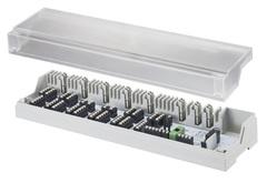 Клеммная коробка Oventrop 1400980 для термост. и сервопрвд. (на 6/10 зон, 24В/230В, без рег. насоса)