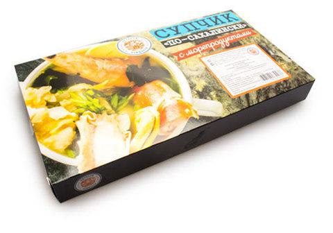Супчик По-Сахалински с морепродуктами, 500г