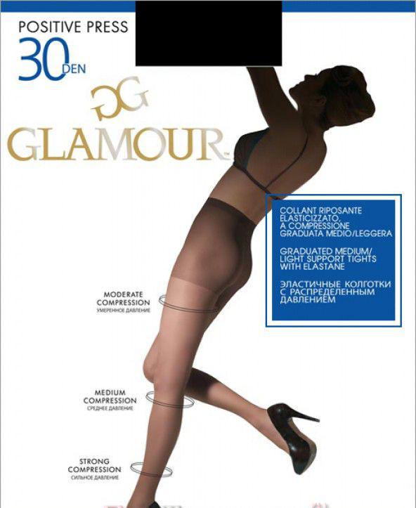 Колготки Glamour Positive Press 30