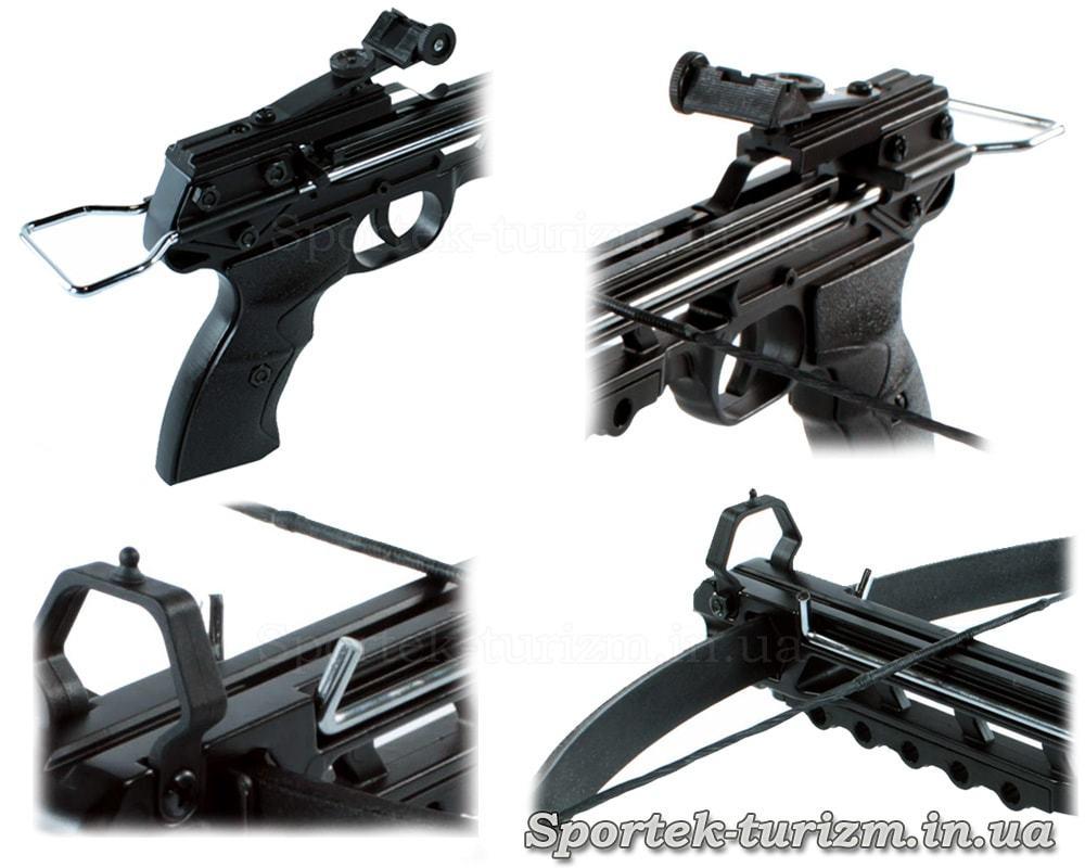 Виды пистолетного арбалета Man Kung MK-50A1