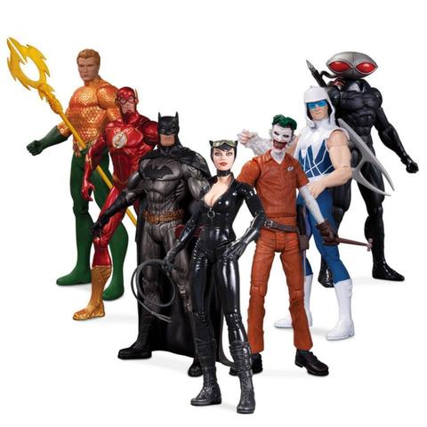 New 52 Heroes Vs. Super Villains 7-Pack