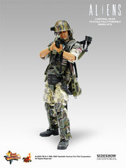 Aliens - USCM Colonel Hicks 12 inch model kit