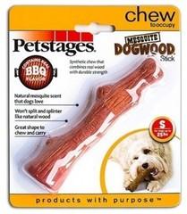 Игрушка для собак Petstages Mesquite Dogwood с ароматом барбекю 16 см маленькая