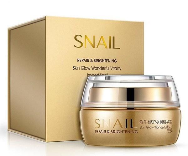 Bioaqua Крем для лица с Муцином улитки Snail Repair & Brightening, 50 г