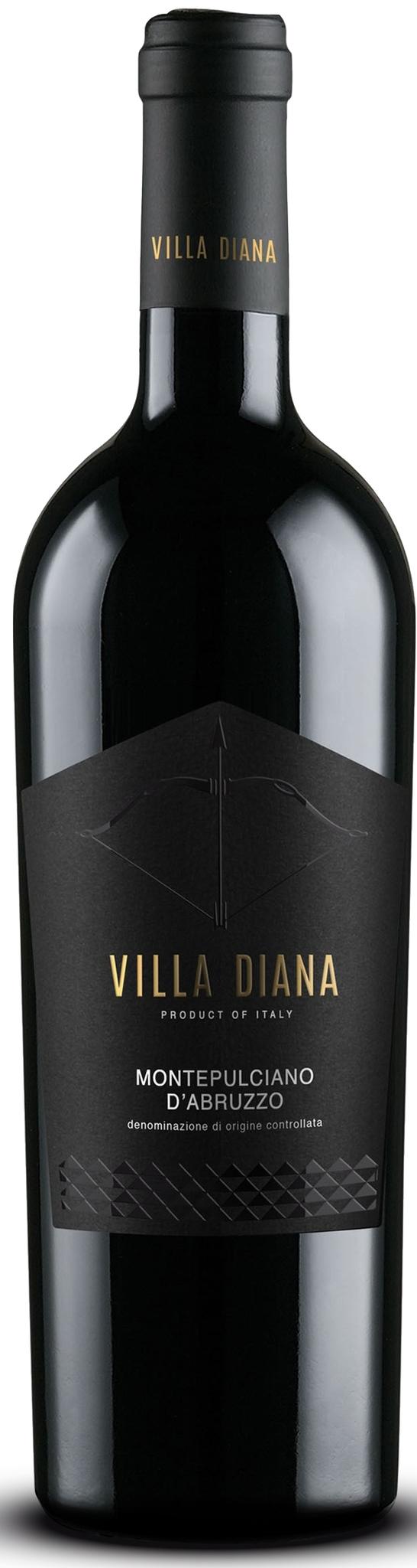 """Montepulciano Terre Di Chieti IGP """" Villa Diana """""""