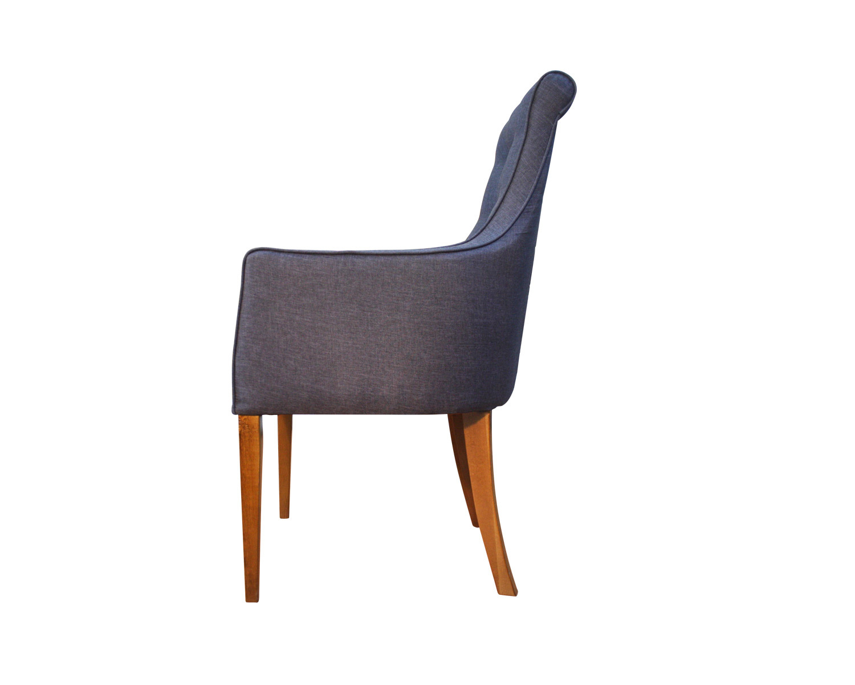 Кресло Патиссон-В на высоких деревянных ножках