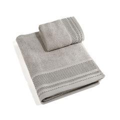 Набор полотенец 2 шт Caleffi Gim grigio