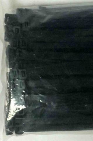 Хомут нейлон 8,7х720мм для стяжки, черный (100шт.)