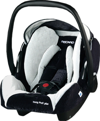 Детское кресло RECARO Young Profi plus (материал верха Topline Microfibre