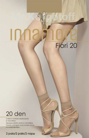 Носки Innamore Fiori Microfibra 20 (2 пары)