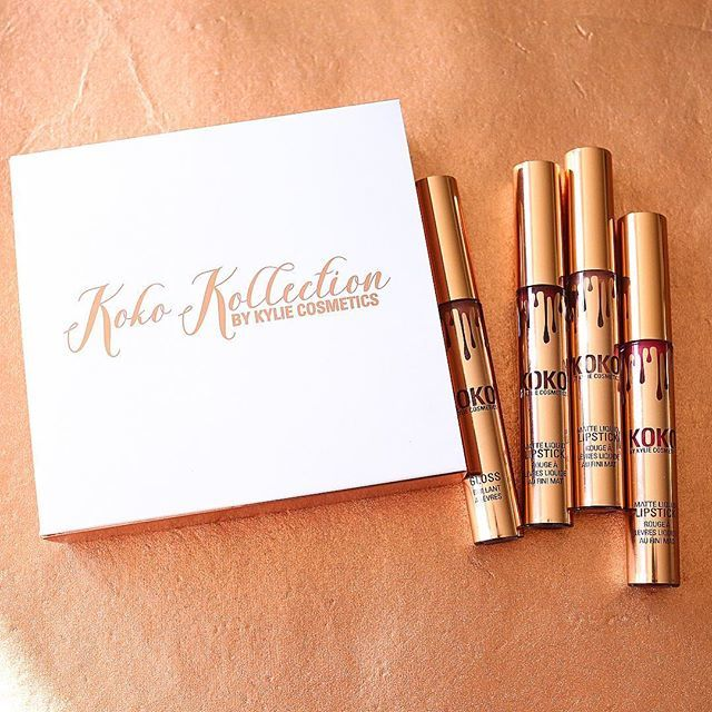 Набор помад Kylie Koko Kollection 4 шт оптом