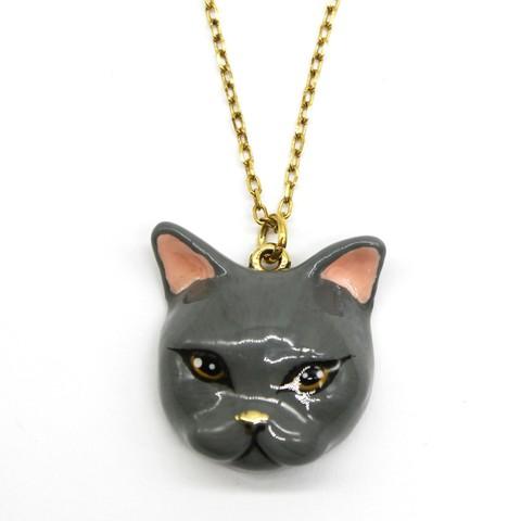 Колье Кошка Плюм