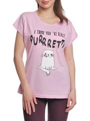 37662-12-3 футболка женская, розовая