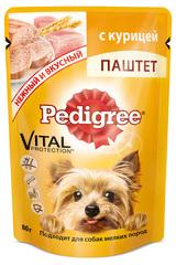 Pedigree паштет с курицей  для собак мелких пород 80гр