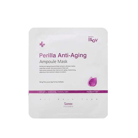 ISOV Маска Perilla Anti-Aging Ampoule Mask 25 гр.