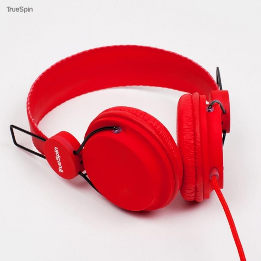 Наушники TRUESPIN BASIC HEADPHONE RED