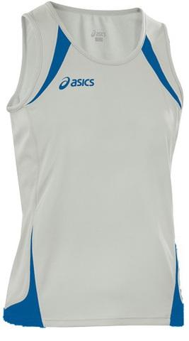 Легкоатлетическая майка Asics Singlet Usain белая унисекс