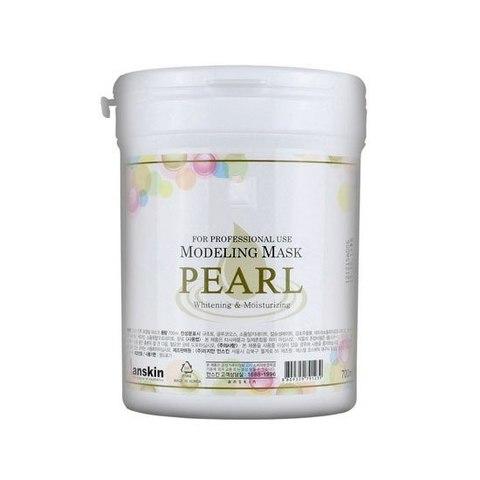 ANSKIN Маска альгинатная с экстрактом жемчуга увлажнение, осветление (банка) Pearl Modeling Mask  / container