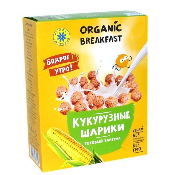 Шарики кукурузные, Компас Здоровья, 100 г