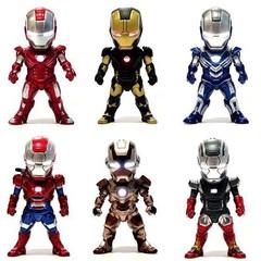 Железный человек набор фигурок с подсветкой серия 01